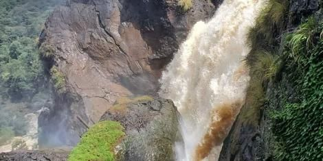 Chepkiit Waterfalls in Nandi County