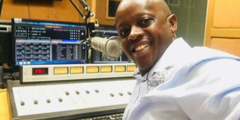 Kameme FM presenter Njogu wa Njoroge