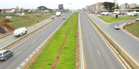 A section of Outer Ring Road in Nairobi