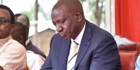 Deputy President William Ruto during a past event.