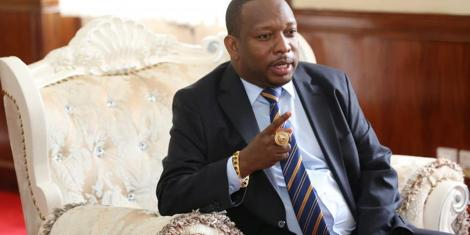 Nairobi Governor Mike Mbuvi Sonko