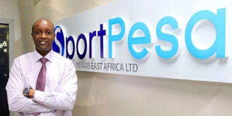 File image of Sportpesa CEO Ronald Karauri