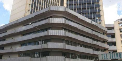 A file image of Telposta Towers on Kenyatta avenue.