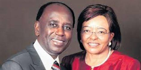 A photo of Dr Dan Gikonyo and Dr Betty Gikonyo, the CEOs of the Karen Hospital.