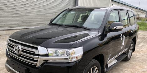 Eacc Detectives Confiscate Wajir Governor Mohamed Abdi Mahamud S Car