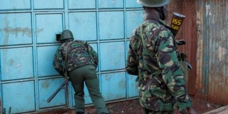 Image result for police launch manhunt kenya
