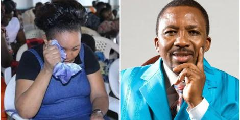 Worshippers Cry as Bishop Who Clashed With Pastor Ng'ang'a