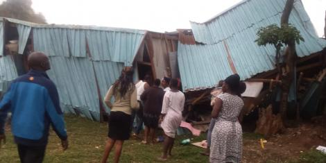 School Collapses in Kenya, at Least 7 Children Were Killed