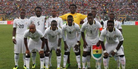 promo code 250f4 835b5 Ghana's Black Stars Arrive in Kenya Ahead of AFCON Qualifier ...
