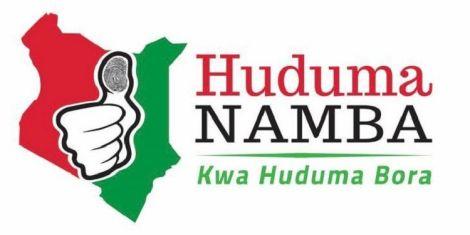 Image result for Moi registers for huduma number