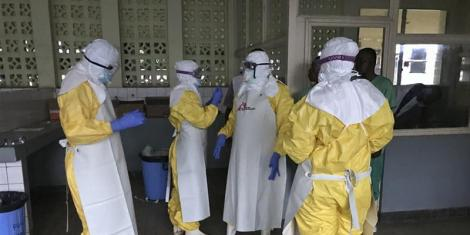 Suspected Ebola case reported in Kenya