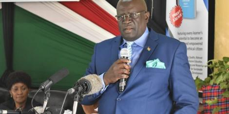 CS Magoha's Statement That Left Everyone in Stitches [VIDEO