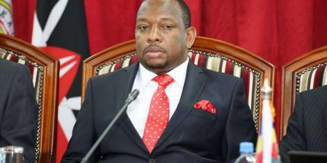 Image result for mike sonko cabinet reshuffle