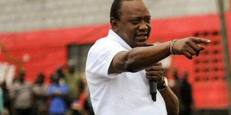 Image result for uhuru's warning