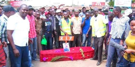 Image result for Laikipia women rep Cate Waruguru buried